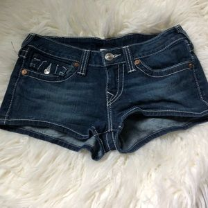 True religion jean shorts size 28